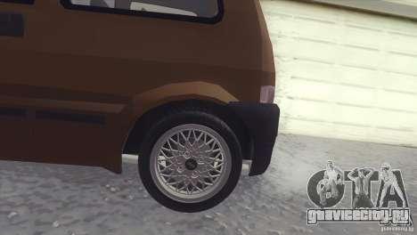 Fiat Cinquecento для GTA San Andreas вид слева