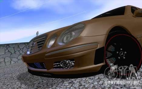Mercedes-Benz E55 AMG для GTA San Andreas вид сзади