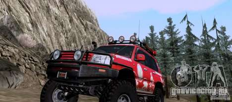 Toyota Land Cruiser 100 Off-Road для GTA San Andreas вид слева