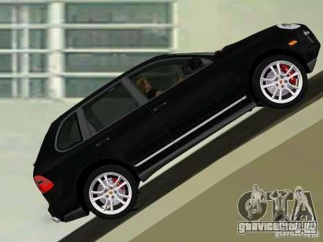 Porsche Cayenne Turbo S для GTA Vice City вид слева