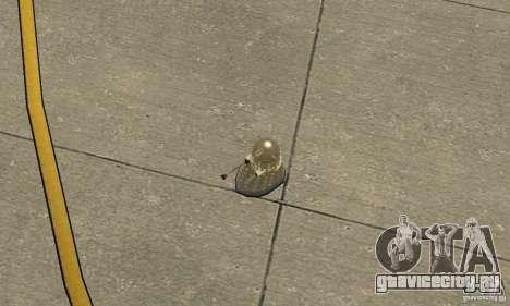 Dalek Doctor Who для GTA San Andreas вид справа