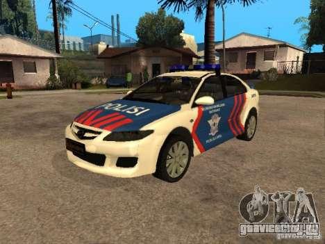 Mazda 6 Police Indonesia для GTA San Andreas