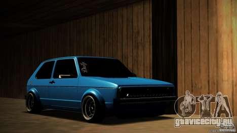 Volkswagen Golf Mk1 Euro для GTA San Andreas