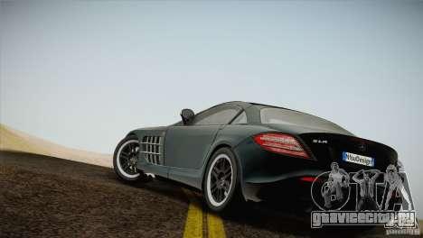 Mercedes SLR McLaren 722 Edition Final для GTA San Andreas вид слева