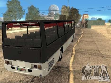 Ikarus Z50 для GTA San Andreas вид изнутри