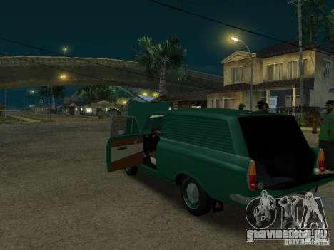 АЗЛК 434 для GTA San Andreas вид сзади слева