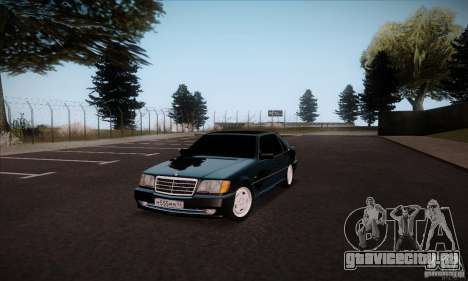 Mercedes-Benz 600SEL AMG 1993 для GTA San Andreas