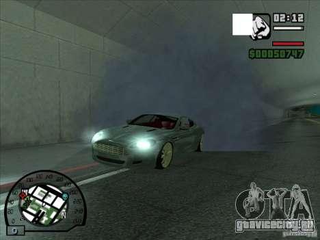 Дым из под колес, как в NFS ProStreet для GTA San Andreas второй скриншот