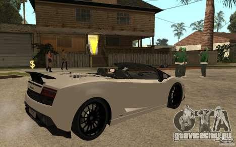 Lamborghini Gallardo LP570-4 для GTA San Andreas
