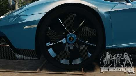 Lamborghini Aventador J 2012 v1.2 для GTA 4 вид сбоку
