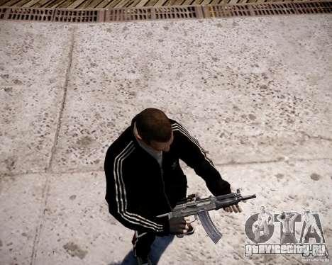АКС-74У для GTA 4 шестой скриншот
