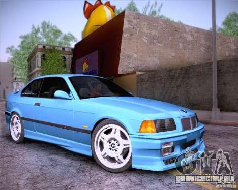 BMW M3 E36 1995 для GTA San Andreas вид сбоку