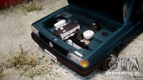 Volkswagen Gol GL для GTA 4 вид сзади