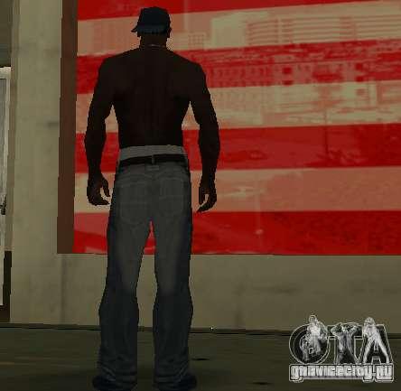 Новые джинсы для CJ для GTA San Andreas четвёртый скриншот