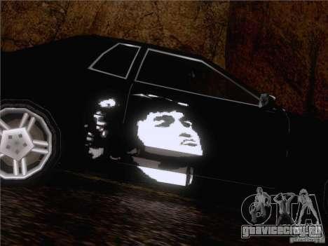 Винил Виктор Цой для GTA San Andreas вид справа