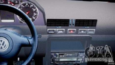 Volkswagen Bora для GTA 4 вид сверху