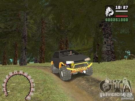 Ваз 21099 4х4 для GTA San Andreas