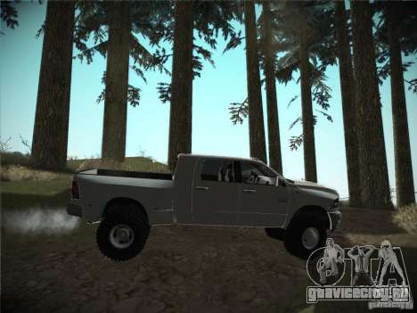 Dodge Ram 3500 4X4 для GTA San Andreas вид справа