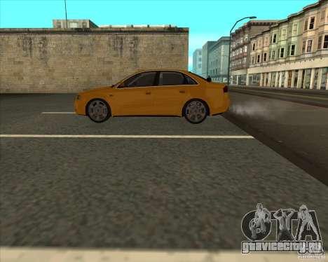 AUDI S4 Sport для GTA San Andreas вид сзади