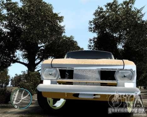 Moсквич 412 Street Racer [Alpha] для GTA 4 вид сзади