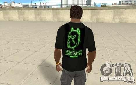 Футболка Pit bill для GTA San Andreas второй скриншот