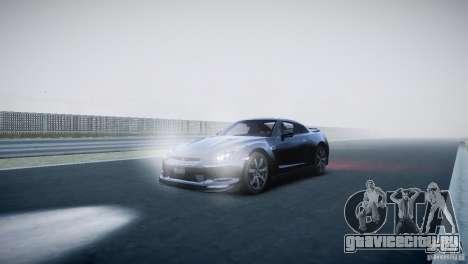 Nissan GT-R R35 V1.2 2010 для GTA 4 вид слева