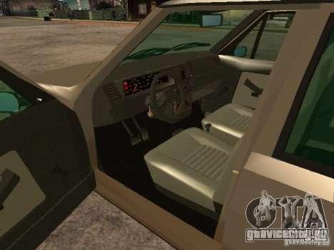 Fiat Ritmo для GTA San Andreas вид сзади слева