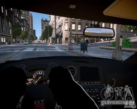 Nissan Spec GT-R Enforcer для GTA 4 вид сзади