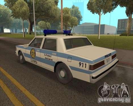 Updated LVPD для GTA San Andreas вид слева