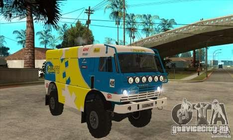 КамАЗ 4911 Rally МАСТЕР для GTA San Andreas вид сбоку