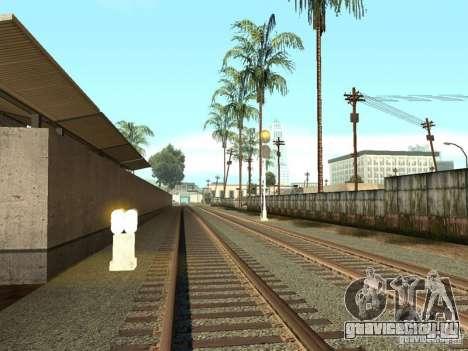Железнодорожные светофоры 2 для GTA San Andreas