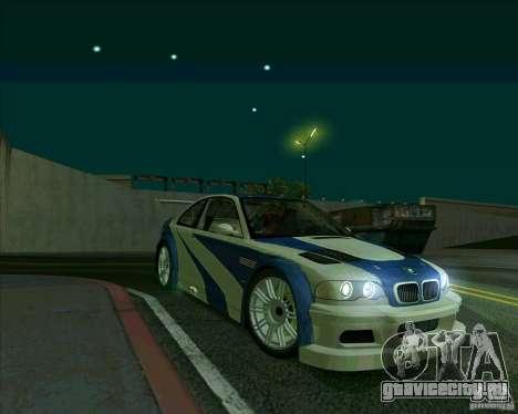 BMW M3 GTR Final для GTA San Andreas