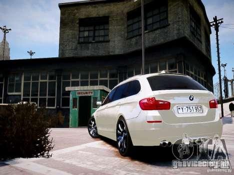 BMW 525i Touring для GTA 4 вид слева