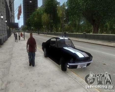 Ford Mustang Tokyo Drift для GTA 4 вид слева