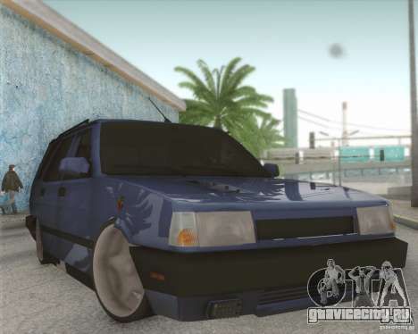 Tofas Kartal SLX для GTA San Andreas вид изнутри
