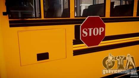 School Bus [Beta] для GTA 4 вид изнутри
