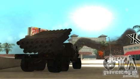 Урал 4320 Град v2 для GTA San Andreas вид справа