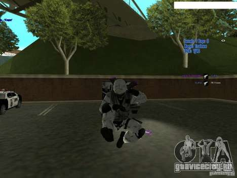 Зимний спецназ для GTA San Andreas третий скриншот