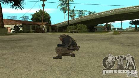 Captain Price для GTA San Andreas второй скриншот
