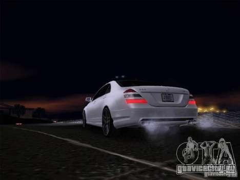 Mercedes-Benz S65 AMG V2.0 для GTA San Andreas вид справа
