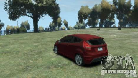 Ford Fiesta для GTA 4 вид слева