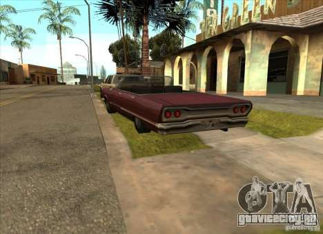 Припаркованный транспорт на Грув Стрит для GTA San Andreas четвёртый скриншот