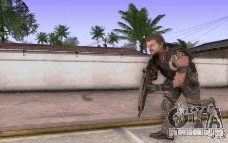 HK XM8 eotech для GTA San Andreas четвёртый скриншот