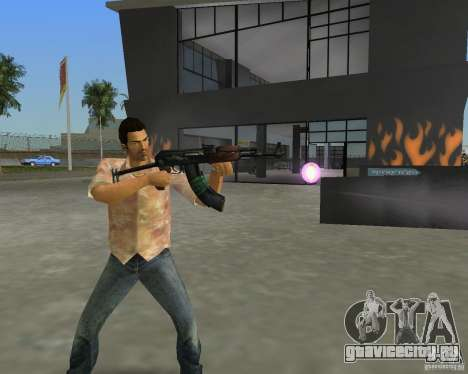 АКС-74 для GTA Vice City