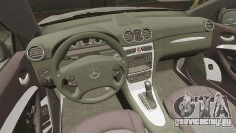 Mercedes-Benz CLK 55 AMG Stock для GTA 4 вид сверху
