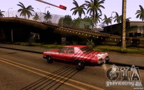Dodge Monaco для GTA San Andreas вид слева