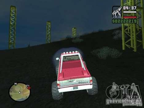 Monster tracks v1.0 для GTA San Andreas второй скриншот
