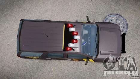 Chevrolet Tahoe Indonesia Police для GTA 4 вид справа