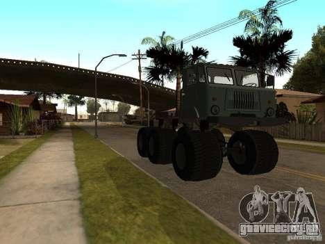 ГАЗ 66 Сайгак для GTA San Andreas вид слева