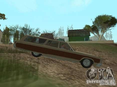 Chrysler Town and Country 1967 для GTA San Andreas вид слева